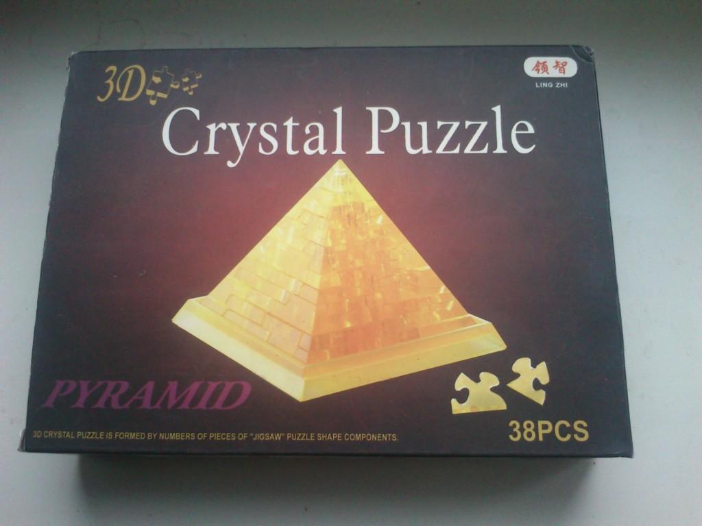 3D-паззл — коробка